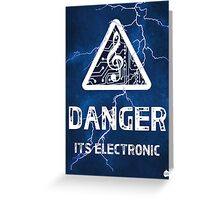 Electronica Greeting Card