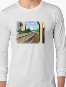 Rails to the Unknown  Long Sleeve T-Shirt