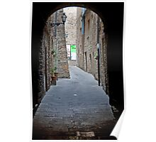 VanishingTuscan Alley Poster