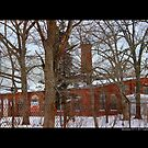 Nikola Tesla's Wardenclyffe Laboratory Building - Shoreham, New York by © Sophie Smith