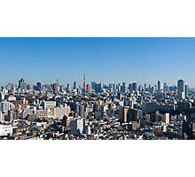 Tokyo downtown Photographic Print