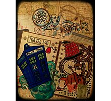 Doctor Who Travel Log  Photographic Print