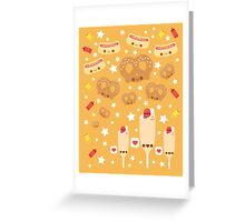 Summer Snacks Greeting Card