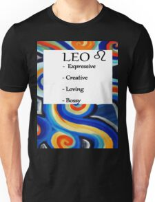 Abstract Leo Horoscope shirt Unisex T-Shirt