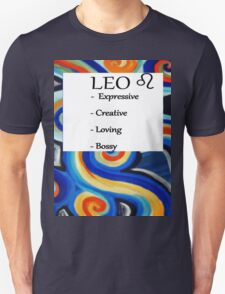 Abstract Leo Horoscope shirt Unisex T-Shirt