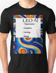 Abstract Leo Horoscope shirt T-Shirt