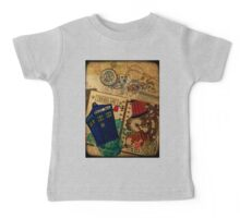 Doctor Who Travel Log  Baby Tee
