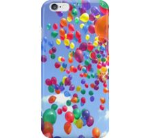 Floating baloons - iphone case iPhone Case/Skin