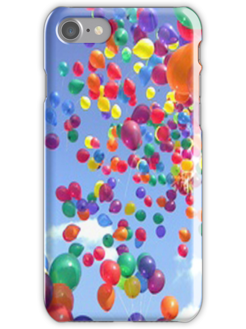 Floating baloons - iphone case by ksully
