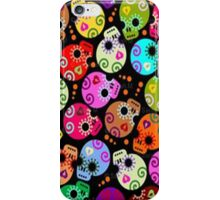 Girly Skulls- iphone case iPhone Case/Skin