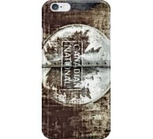 Canadian National iPhone Case/Skin