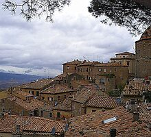 Volterra In The Rain by Fara