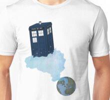 Tardis leaves Earth Unisex T-Shirt