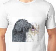 Labradoodle Kiss Unisex T-Shirt