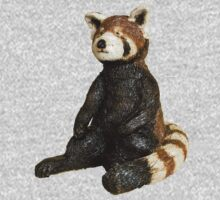 Red Panda One Piece - Long Sleeve