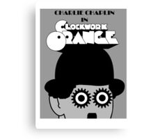 Charlie Chaplin's Clockwork Orange Canvas Print