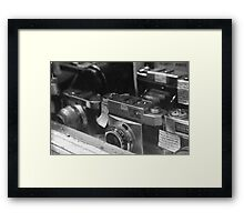 It Can Simply Start With Film Framed Print