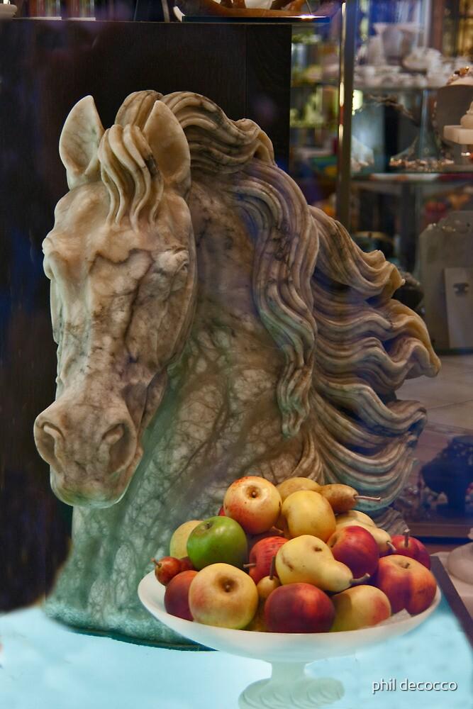 Cavallo E Frutti by phil decocco