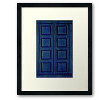 Blue Book Framed Print