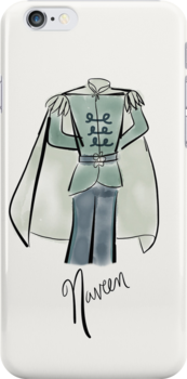 Prince Naveen iPhone Case by Wfam21