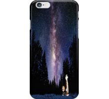 Calvin And Hobbes Night iPhone Case/Skin