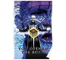 """Pinhead Hellraiser """"You Opened the Box..."""" Poster"""