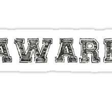 AWARE Sticker