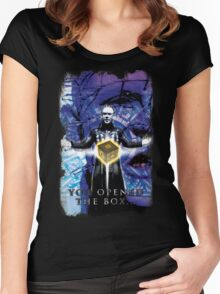"Pinhead Hellraiser ""You Opened the Box..."" Women's Fitted Scoop T-Shirt"