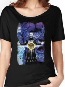 """Pinhead Hellraiser """"You Opened the Box..."""" Women's Relaxed Fit T-Shirt"""