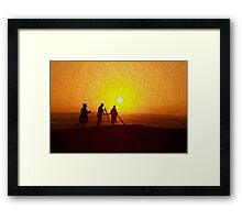 Symbol of Christianity.  Framed Print