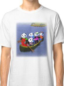 Pandas in Boat Classic T-Shirt