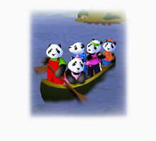 Pandas in Boat Unisex T-Shirt