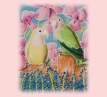Peach-faced Lovebird Kids Clothes