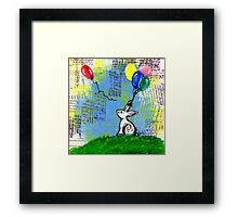 Lost Balloon Framed Print