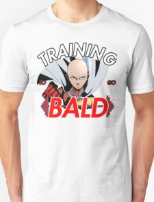 Keep Training To Go Bald!! Onepunch - Man (Colored) T-Shirt