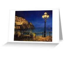 Summer Evening in Amalfi Greeting Card