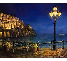 Summer Evening in Amalfi Photographic Print