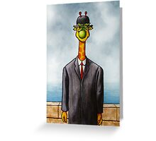 Art Giraffe- The Son of Man Greeting Card