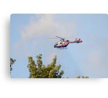 Media Helicopter Metal Print