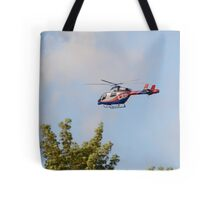 Media Helicopter Tote Bag