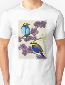 Paradise Tanager And Banded Pitta T-Shirt