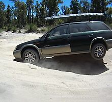 Subaru Outback 4WD off road by BigAndRed