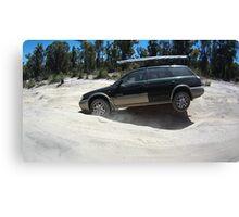 Subaru Outback 4WD off road Canvas Print