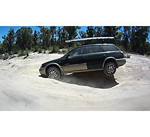 Subaru Outback 4WD off road Photographic Print