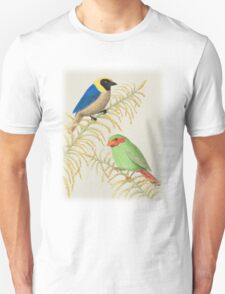 Golden-collared Tanager and Grass-green Tanager T-Shirt