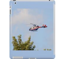 Media Helicopter iPad Case/Skin