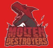Monster Hunter All Stars - Molten Destroyers by bleachedink