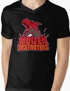 Monster Hunter All Stars - Molten Destroyers Mens V-Neck T-Shirt