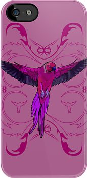 The Pink Parrot by Adamzworld