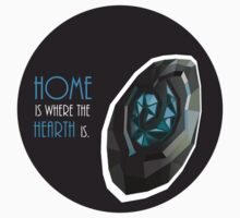home is where the hearth is. T-Shirt